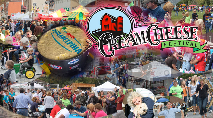 Cream Cheese Festival - Lowville NY